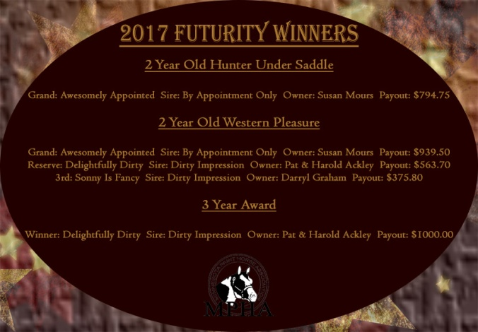 2017 futurity winners