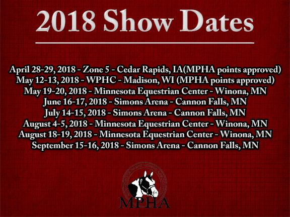 2018 showdates